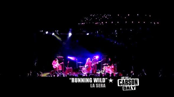 la sera last call with carson daly